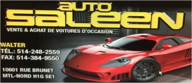 Logo Auto Saleen
