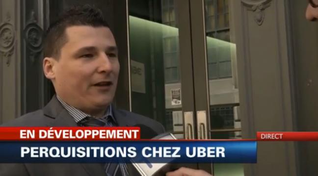 Perquisition de revenu québec chez uber à montréal fintaxi