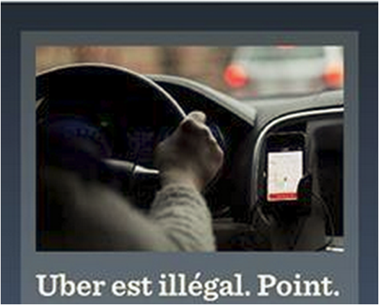 Uber Est Illegal Point Fintaxi